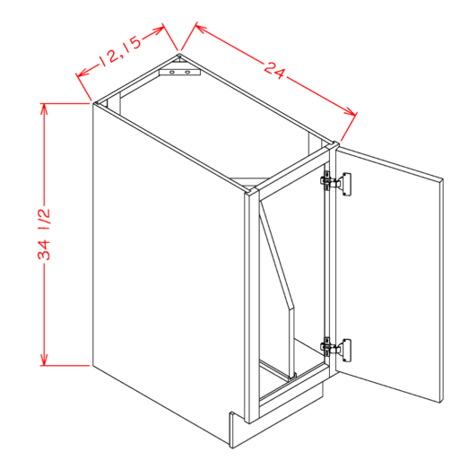 Full Height Tray Divider Base